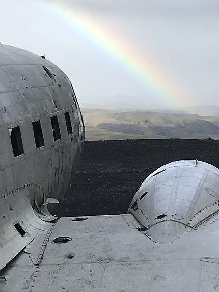 DC3 en Islande