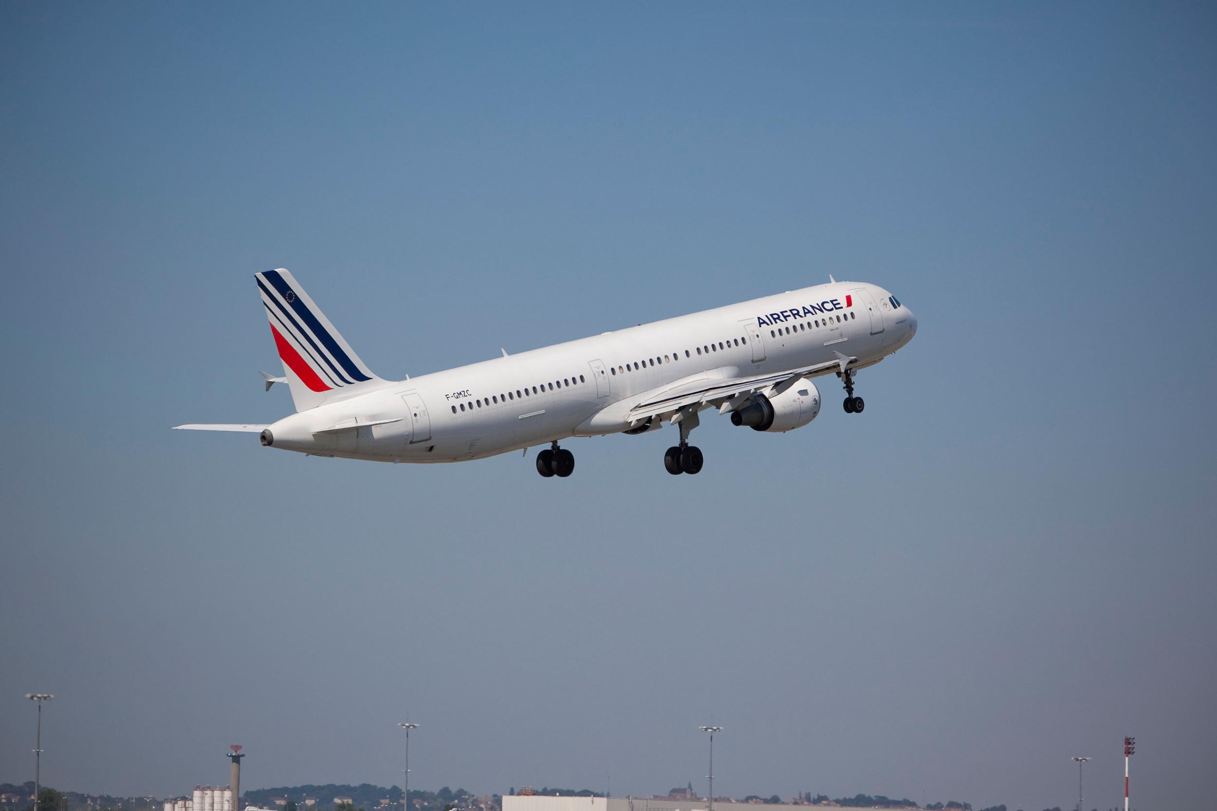 Vol Air France Paris Beyrouth :