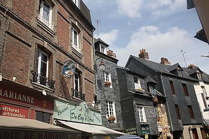 Ruelle à Honfleur