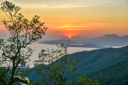 Baie de Hong Kong depuis le Peak