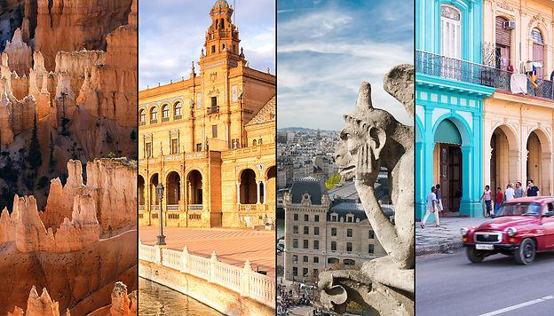Vos destinations préférées en 2018 Adobe Stock - Fotolia