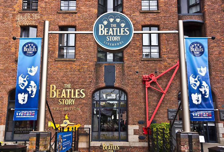 Les Beatles à Liverpool et Hambourg