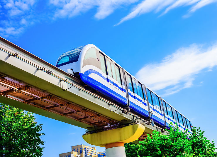 Monorail - Moscou, Russie et Kuala Lumpur, Malaisie