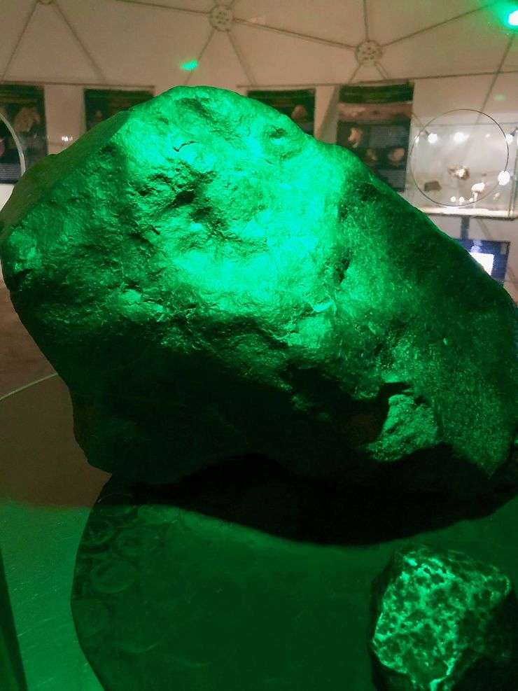 Museo del Meteorito : tombé du ciel !