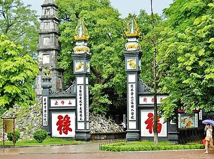 Temple Den Ngoc Son à Hanoi