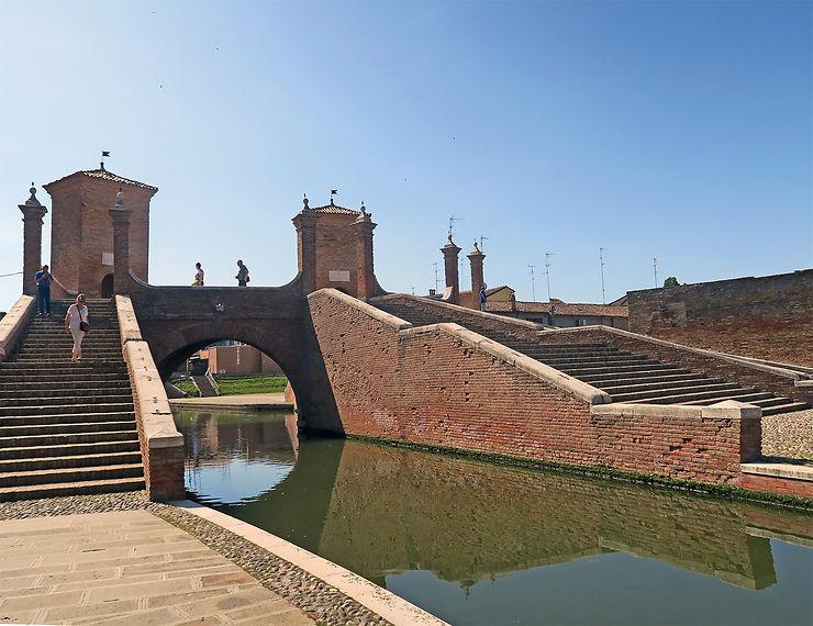 Le delta du Pô et Comacchio