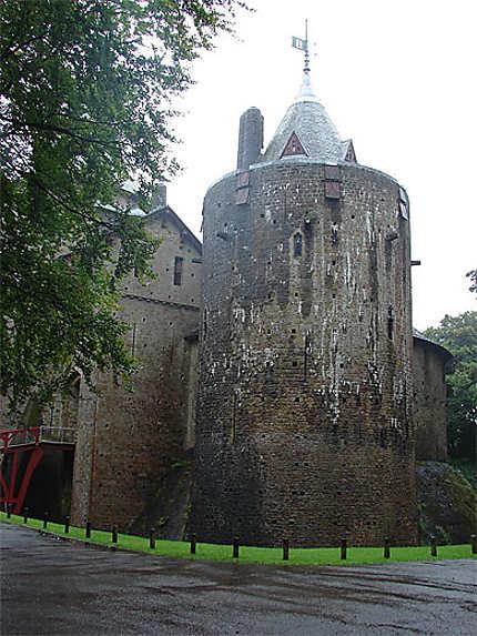 Castell Coch sous la pluie