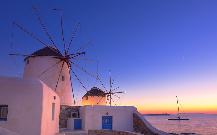 Les Cyclades : terres de mythes et de marins