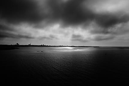 Ciel tourmenté sur Reykjavik