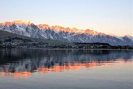 Queenstown, lac Wakatipu