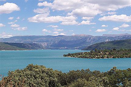 Les gorges du Verdon Lac sainte croix