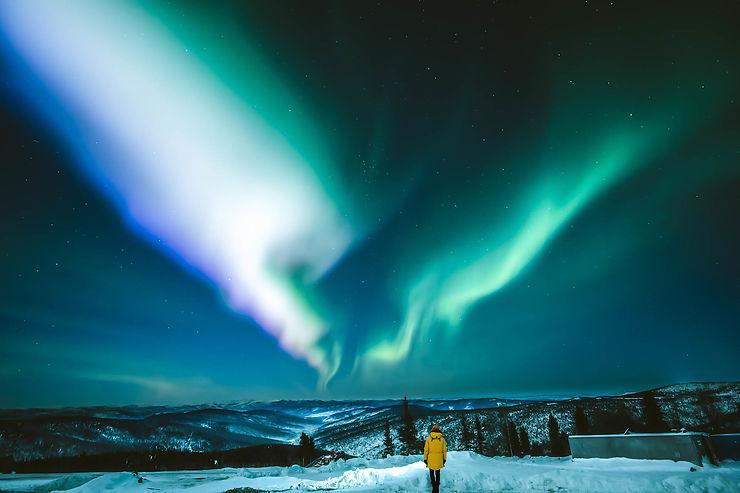 Voir des aurores boréales en Amérique du Nord et en Russie