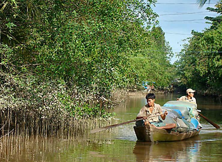 Le delta du Mékong, un monde amphibie