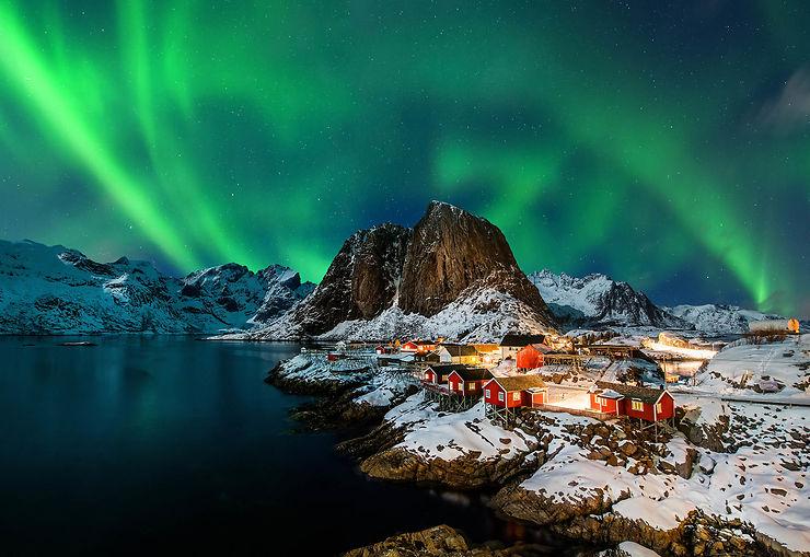 Aurores boréales en Europe du Nord : les meilleurs sites