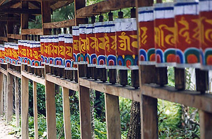 Carte Inde Sikkim.Escapade Dans Le Sikkim