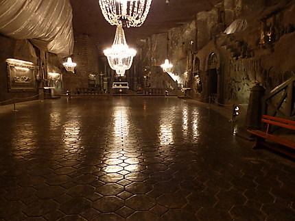Cathédrale souterraine de Wieliczka