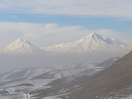 Zangakatun - Grand et petit Ararat