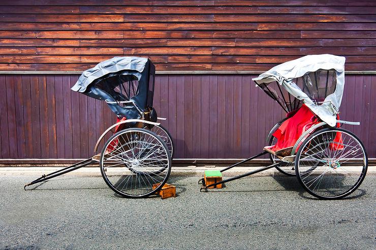 Rickshaw, trishaw, becak - Inde, Indonésie, Asie du Sud-Est