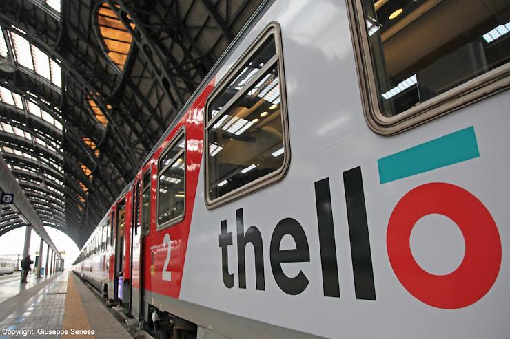 Italie - Thello : de nouveaux tarifs et l'Italie en train dès 27 €