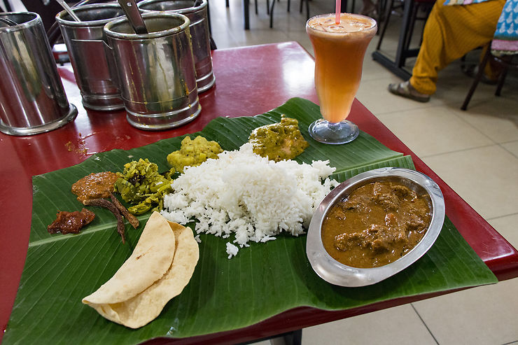 Plats sous influence indienne