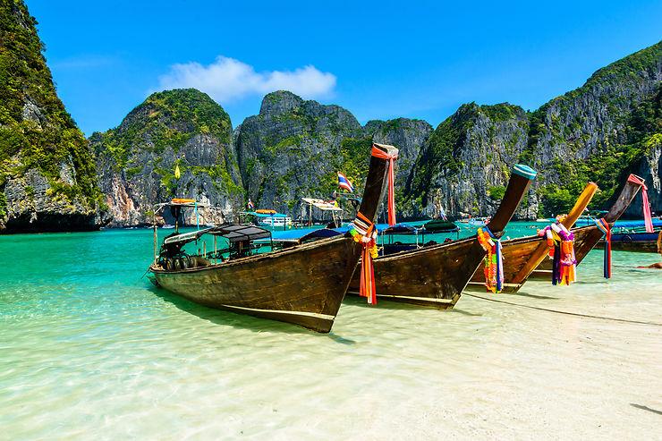 Long tail boat - Thaïlande