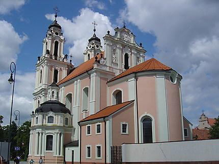 Vilnius : église sainte-Catherine