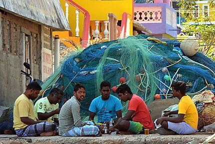 Le repas des pêcheurs