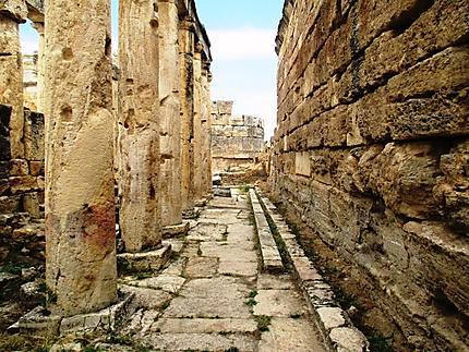 Les toilettes d'Hierapolis