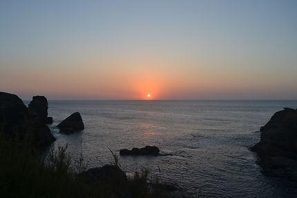 Coucher de soleil à Belle-Île-en-Mer