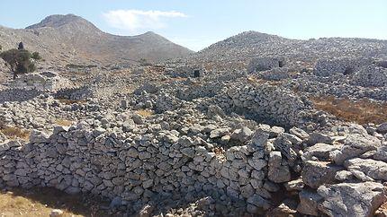 Centre de l'ile d'Halkis