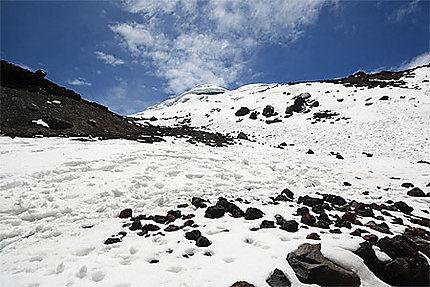 Glacier du Cotopaxi