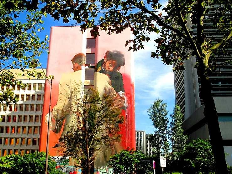 Sur les traces du street art : Boulevard Paris 13