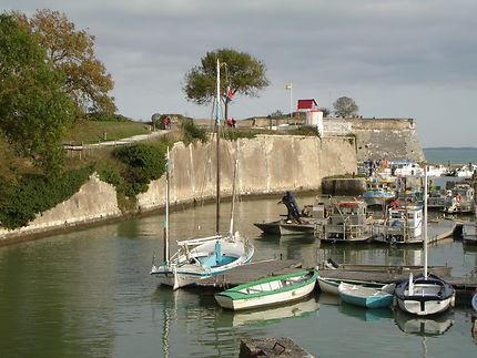 Château d'Oléron et son port
