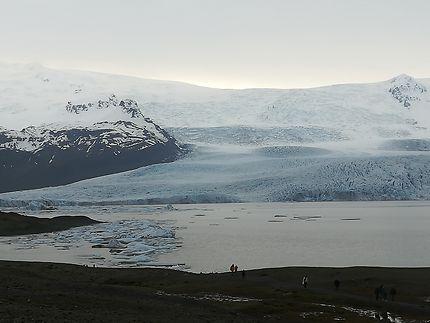 Le glacier Oraefajokull