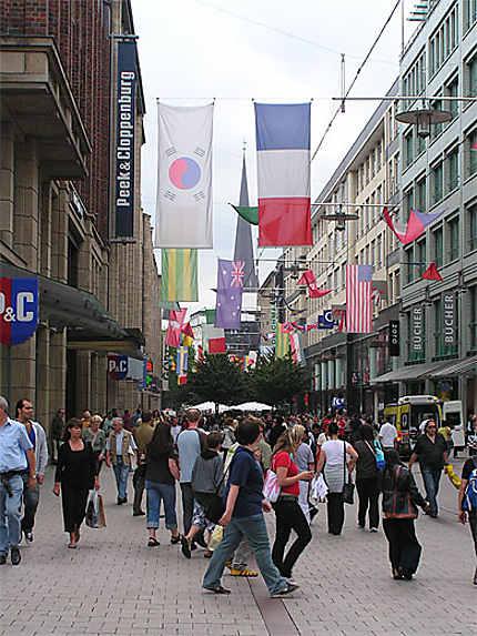 Rue à Hambourg