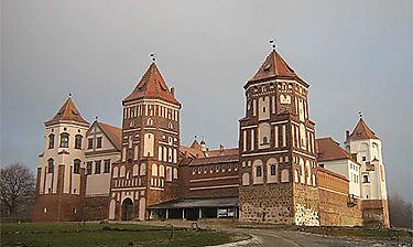 Mir et Nesvizh (environs de Minsk)