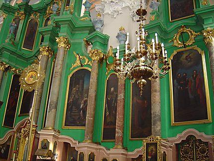 Vilnius : église saint-Esprit