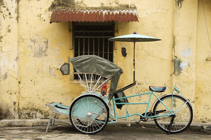 Pousse-pousse et cyclo - Asie, Madagascar