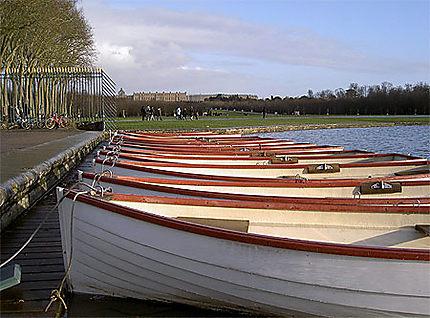 Barques à Versailles