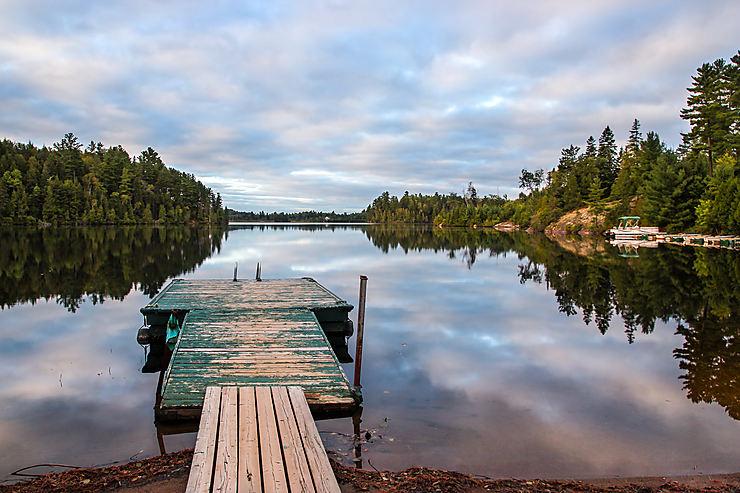 Lac blanc, Québec