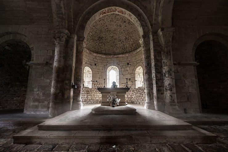 Le coeur de l'Eglise de Sainte-Marie, Saint-Symphorien de Mahun, Ardèche