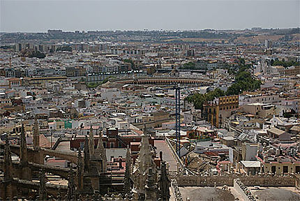 Vue sur Séville de la Giralda