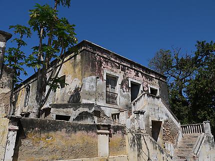 Ilha de Mozambique - maison en ruine