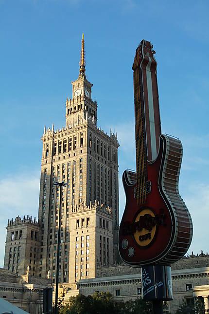 Varsovie : choc des cultures