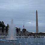 World War Memorial II et Washington Monument