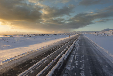 Paradise Frozen Road