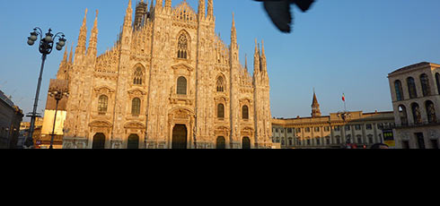 Destination Milan - Franck Ybert