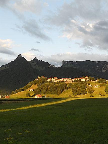 La ville de Gruyères