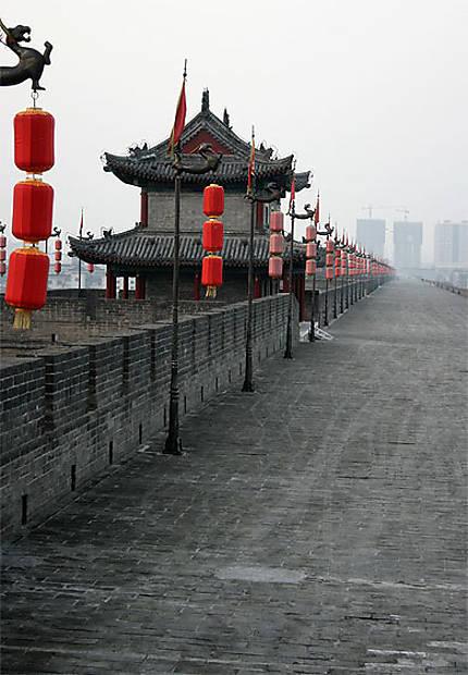 Muraille de la ville de Xian