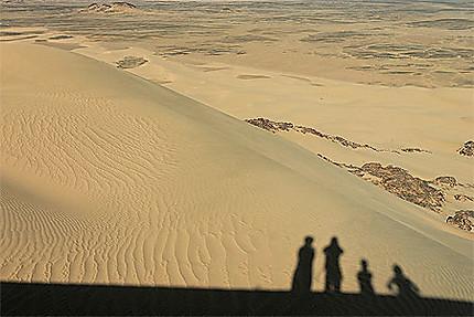Ombres et dunes à Tin Akacheker
